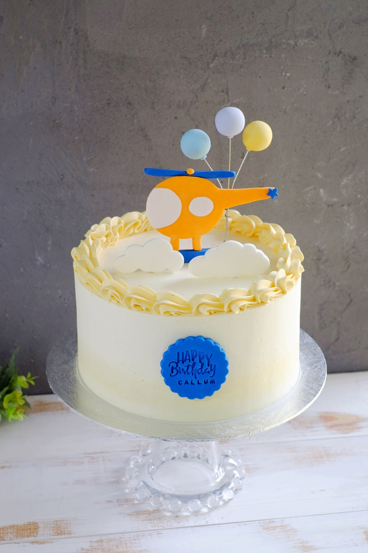 Fondant Stamping: Happy Birthday
