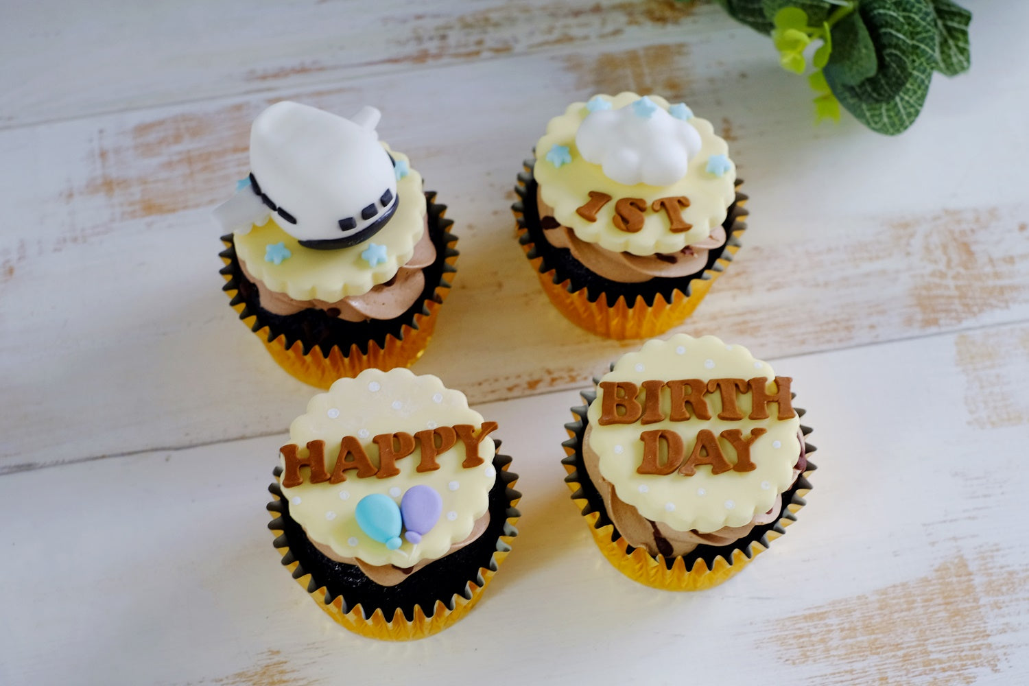 Airplane Theme Fondant Cupcakes Workshop (30 Mar 19)