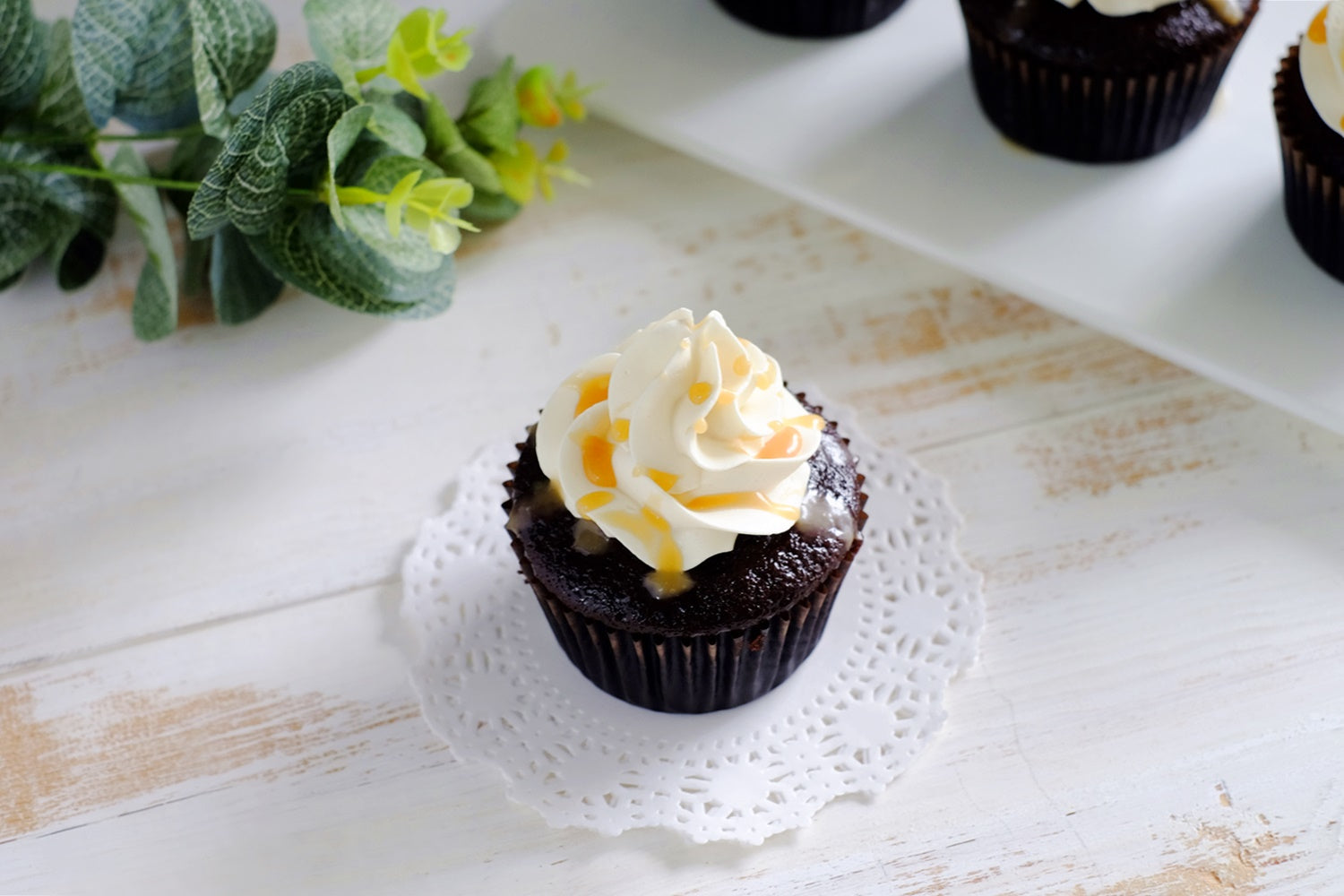 Chocolate Caramel Cupcakes (From $3/Pc)