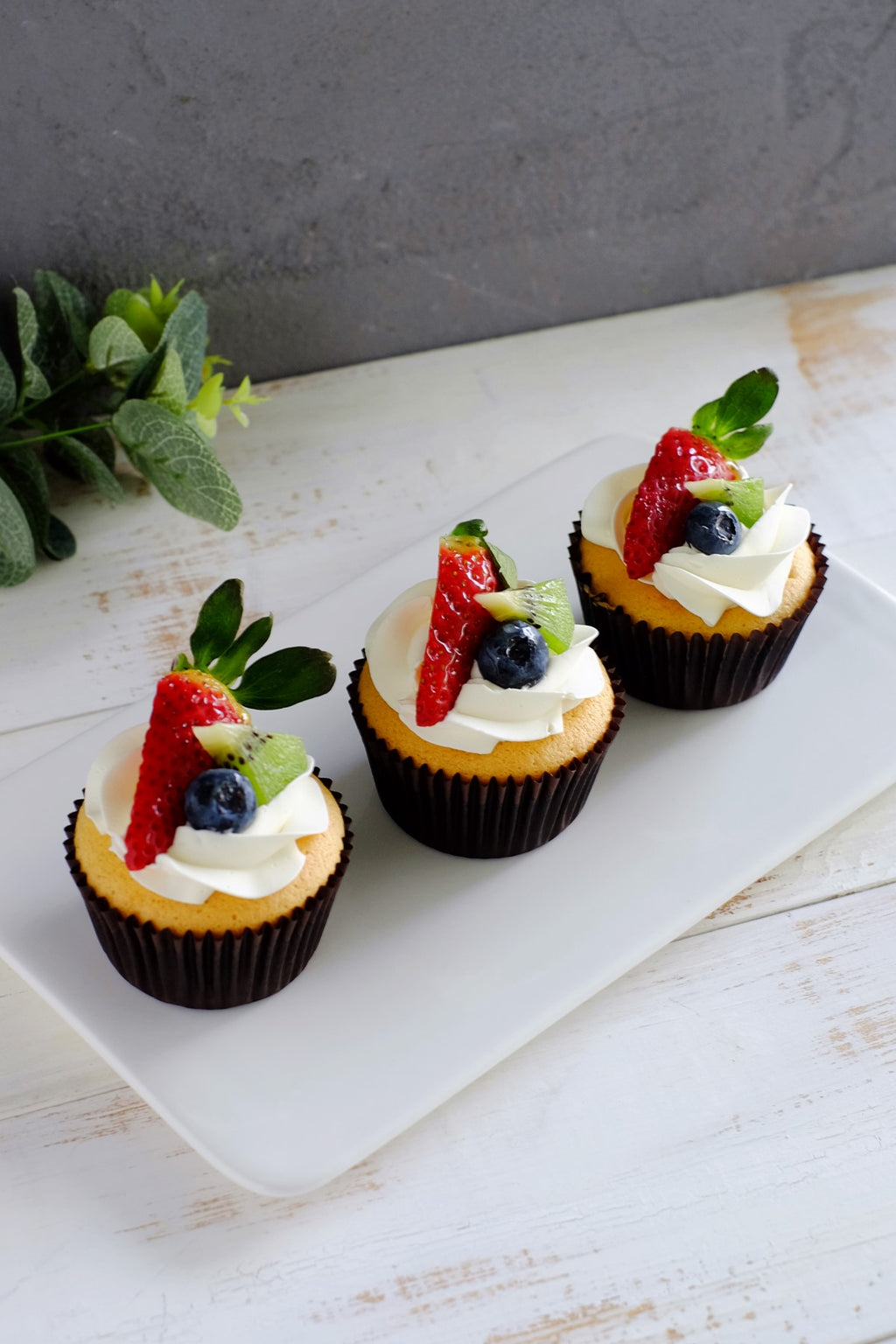 Vanilla Fruit Cupcakes (From $2.95/Pc)