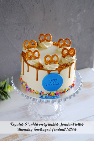 Cookie Butter Latte Cake