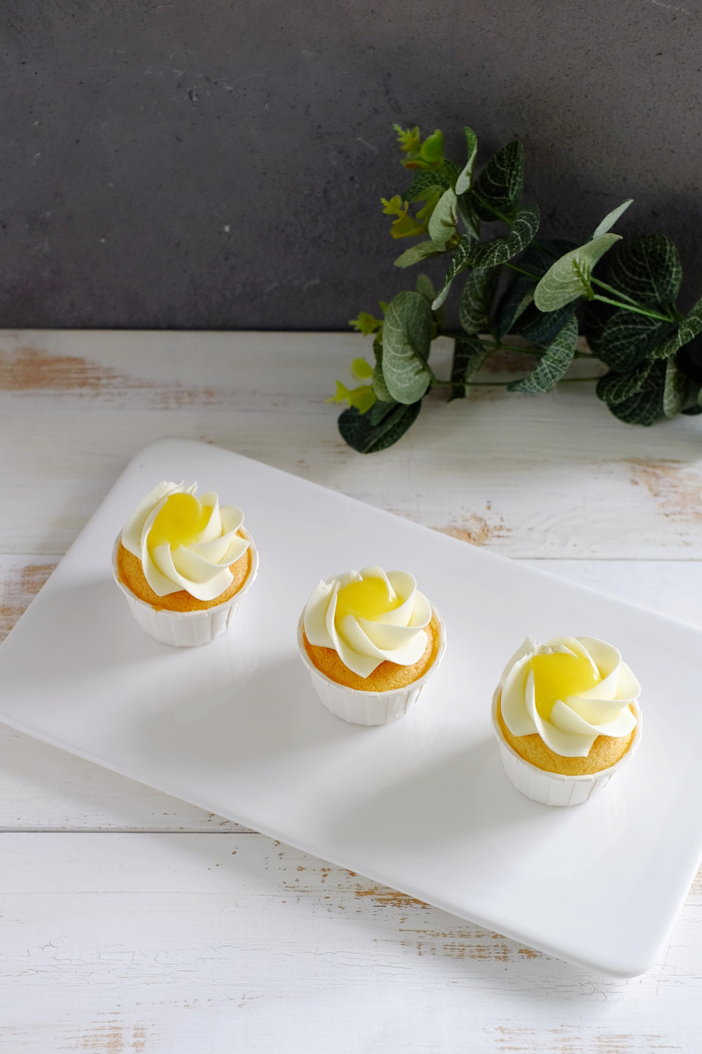 Mini Lemon Curd Cupcakes ($2.25/Pc)
