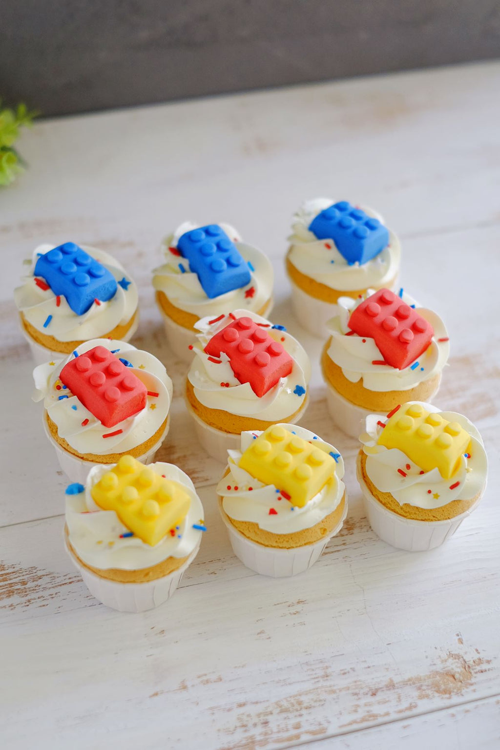 Mini Lego Theme Cupcakes (From $4/Pc)