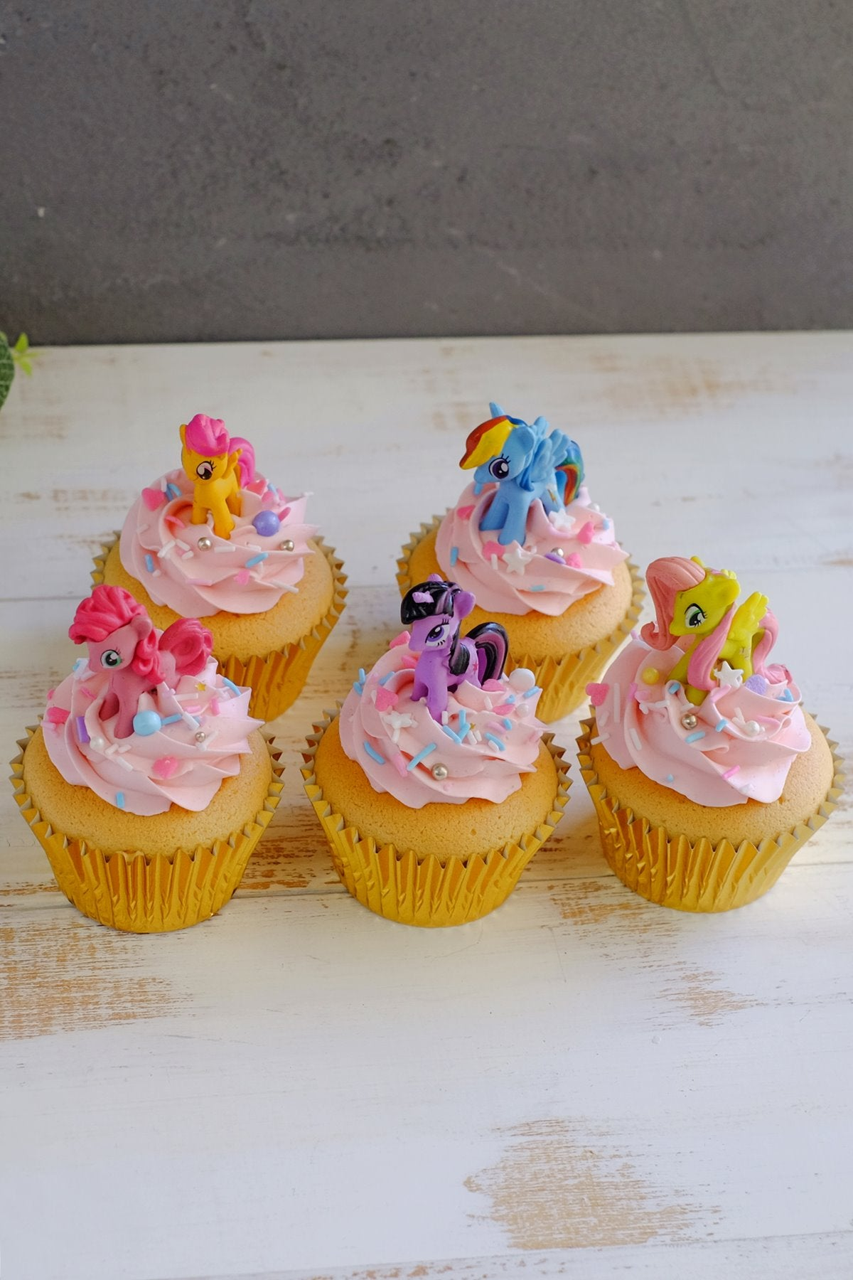 My Little Pony Cupcakes (From $5.50/Pc)