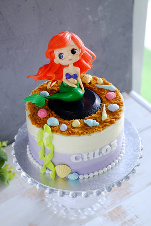 Under the Sea Mermaid Cake (Other Colors Available)