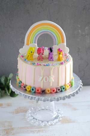 Terrific My Little Pony Cake Other Colors Available Petite Joy Bakes Funny Birthday Cards Online Alyptdamsfinfo