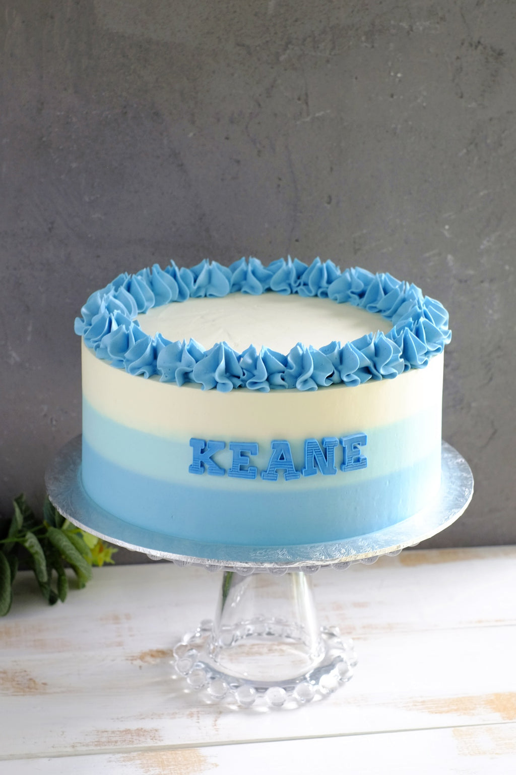 Ombre Ruffle Cake (Next Day Collection)