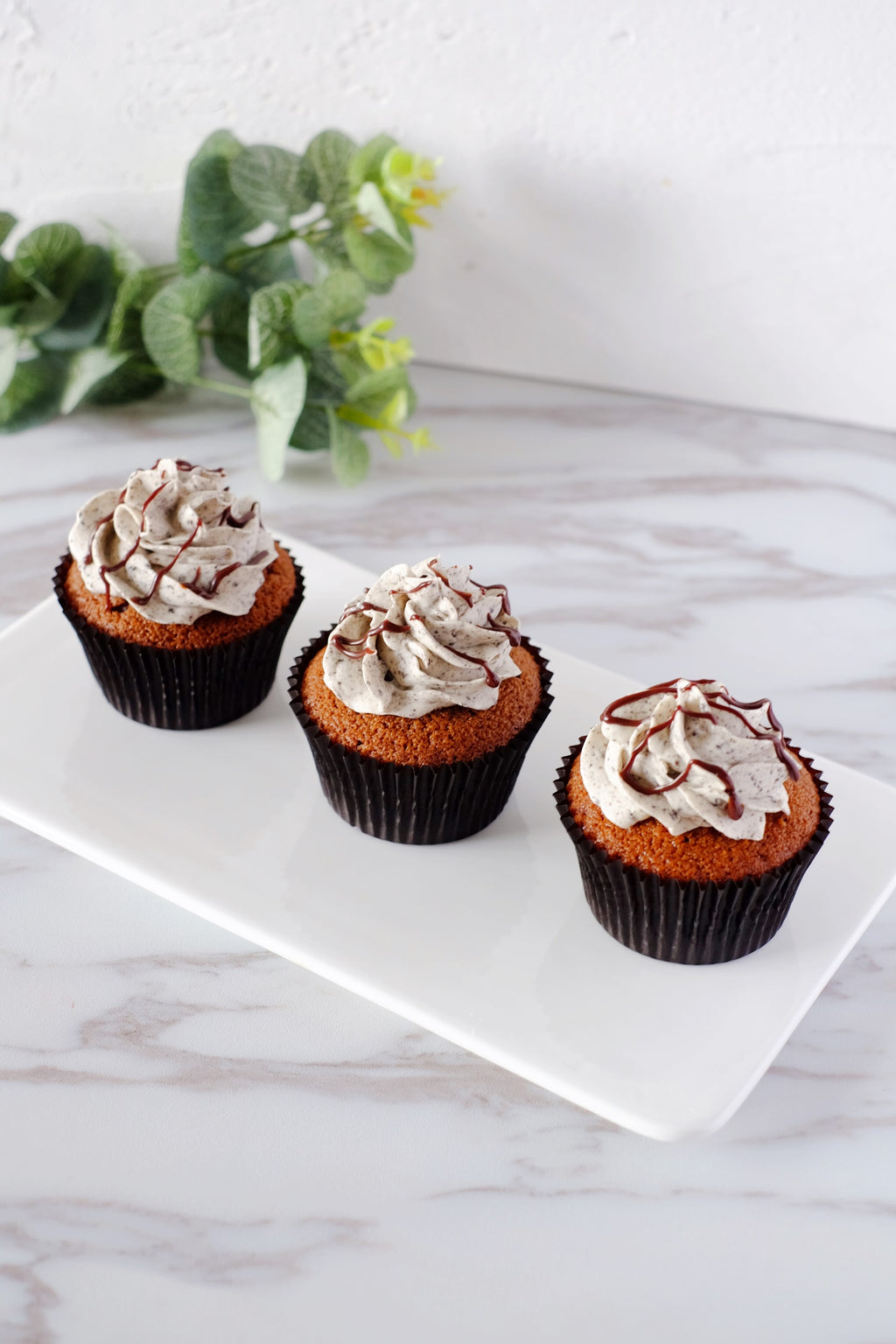 Oreo Chocolate Malt Cupcakes ($3.50/Pc)