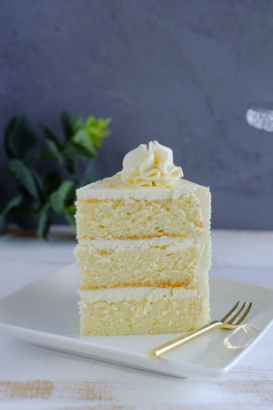 Passion Fruit Caramel Cake