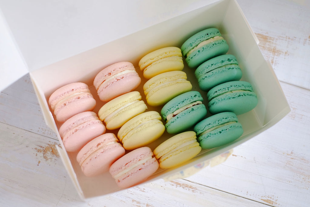 Pastel Macarons (Box of 30s)
