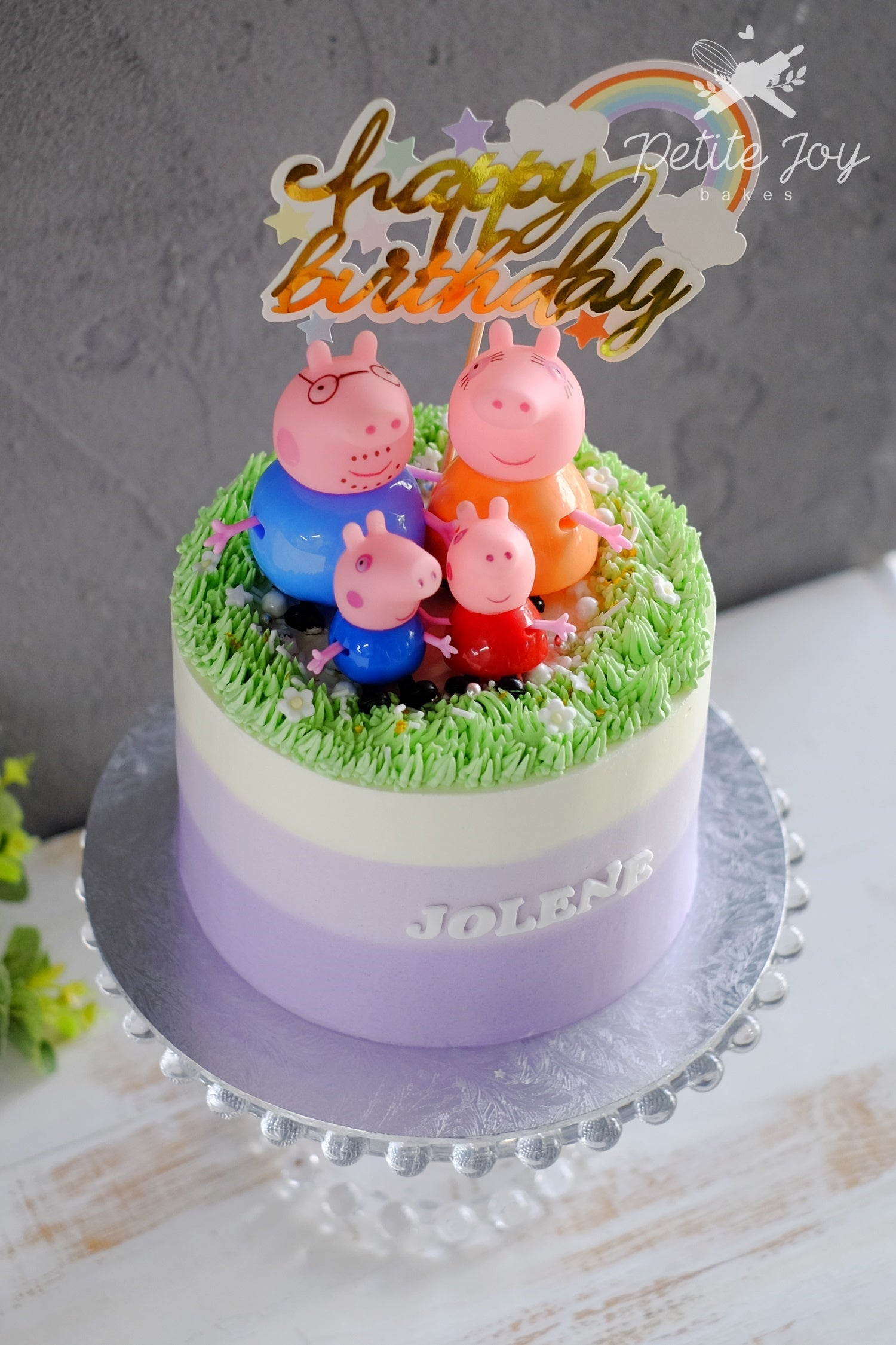 Peppa Pig Cake (Other Colors Available)
