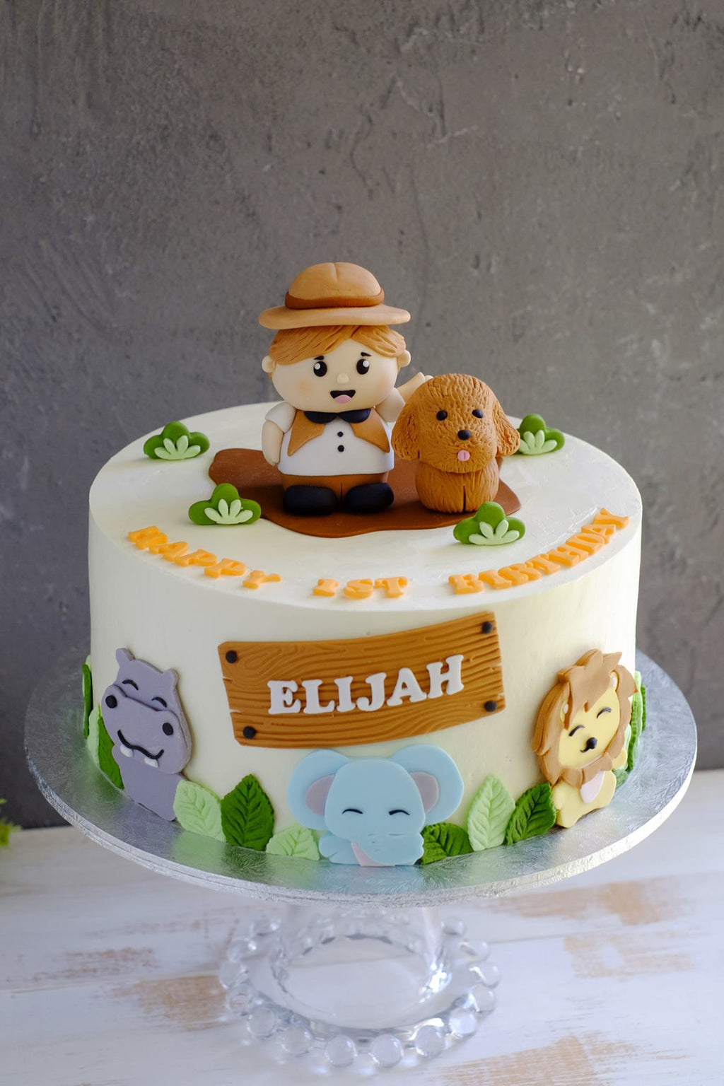 Animal Safari Adventurer Cake