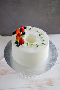 Strawberry Chiffon Fresh Cream Cake