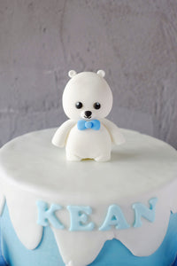 Fondant Figurine - White Bear