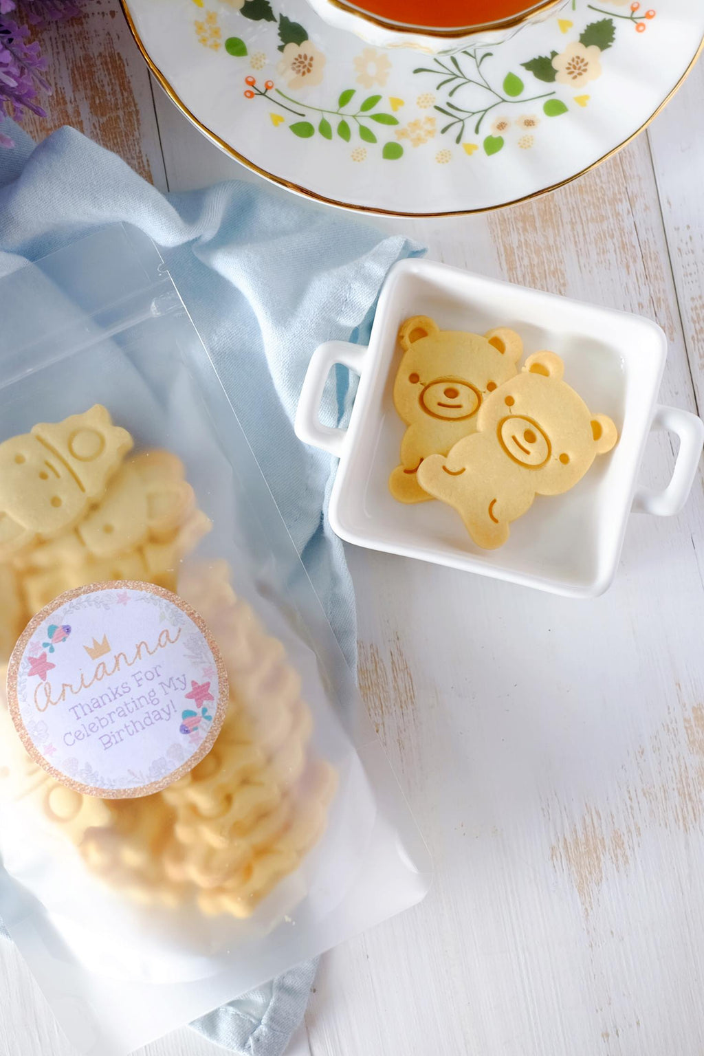 Bear Cookie Party Favor Packs (From $3/Pack)