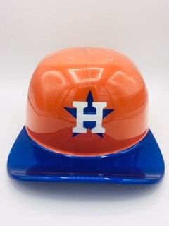Custom Painted Doughboy Lid - Houston Astros