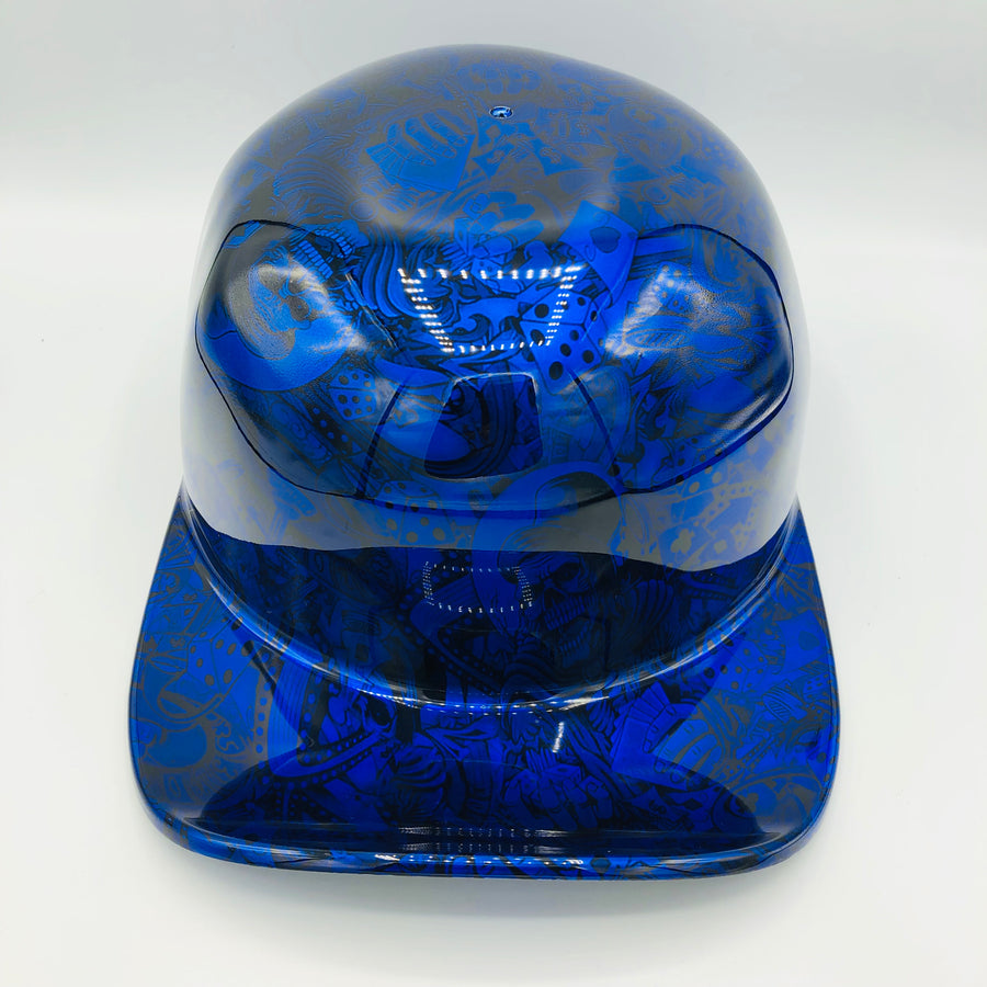Hydrodipped Doughboy Lid - Blue Gambler