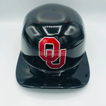 ***SOLD***Custom Painted Doughboy Lid - OU Sooners