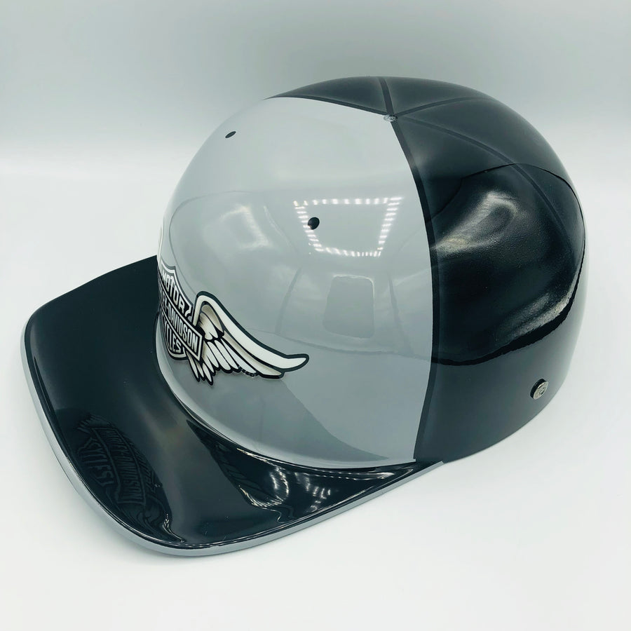 ***SOLD*** Custom Painted Doughboy Lid - Harley Davidson Wings