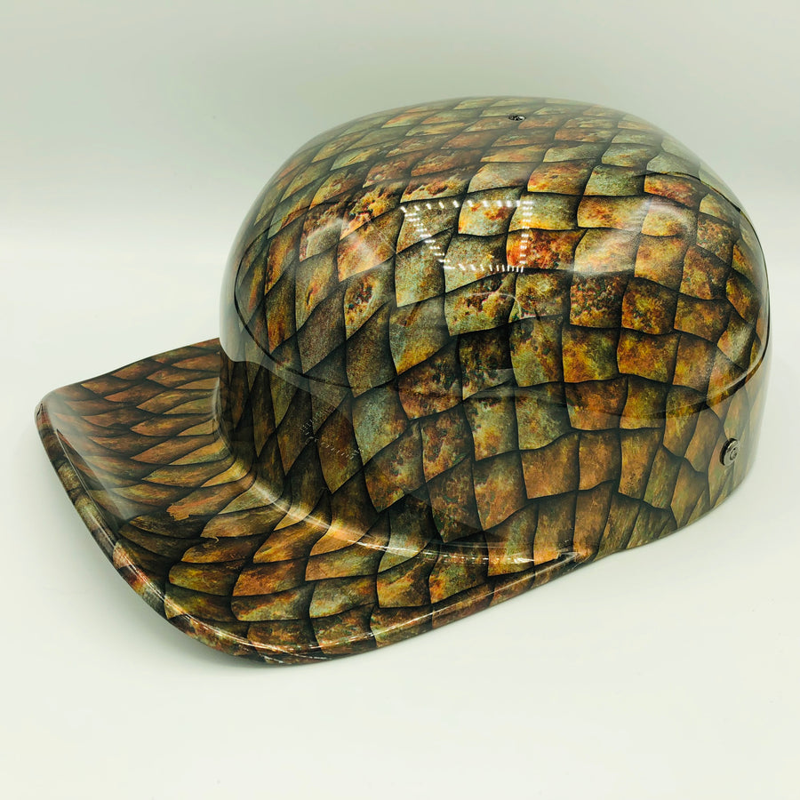 Hydrodipped Doughboy Lid - Dragon Scales