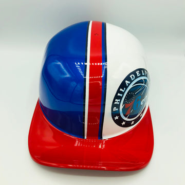 Custom Painted Doughboy Lid - Philadelphia 76'ers