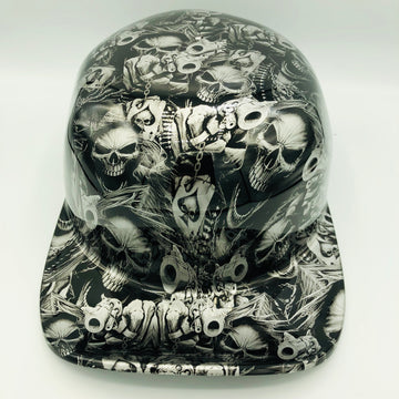 Hydrodipped Doughboy Lid - Gangster Skulls