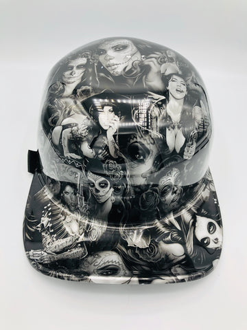Hydrodipped Doughboy Lid - La Loca (Not in Stock! More being dipped!)