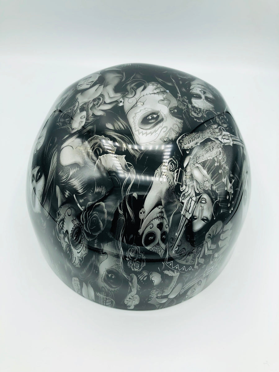 Hydrodipped Doughboy Lid - La Loca (NOT in Stock. More being dipped!)