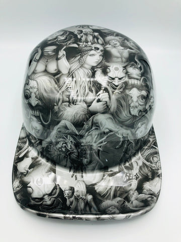 Hydrodipped Doughboy Lid - Beauties & Devils (Not in Stock! More being dipped!)