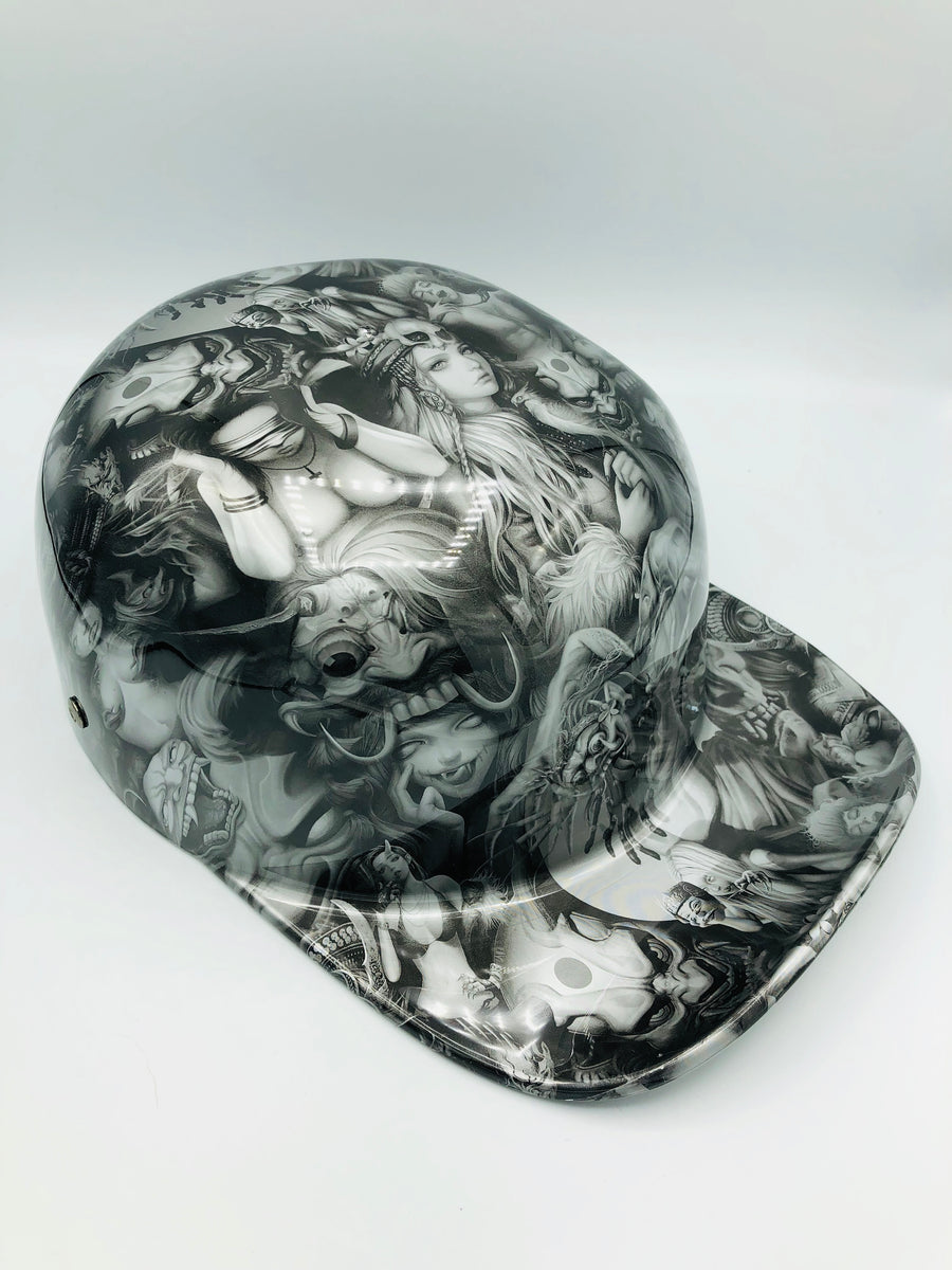 Hydrodipped Doughboy Lid - Beauties & Devils