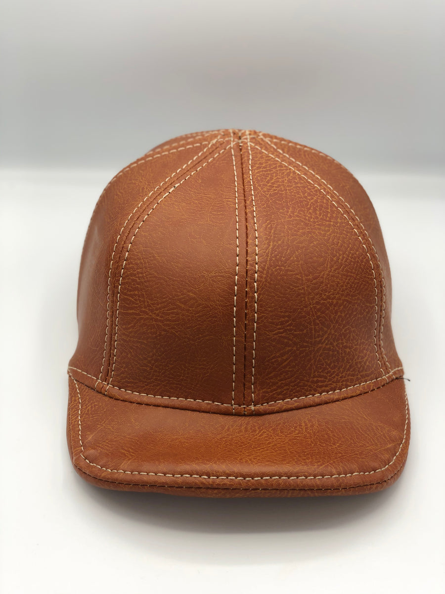 Custom Doughboy Lid - Brown Leather