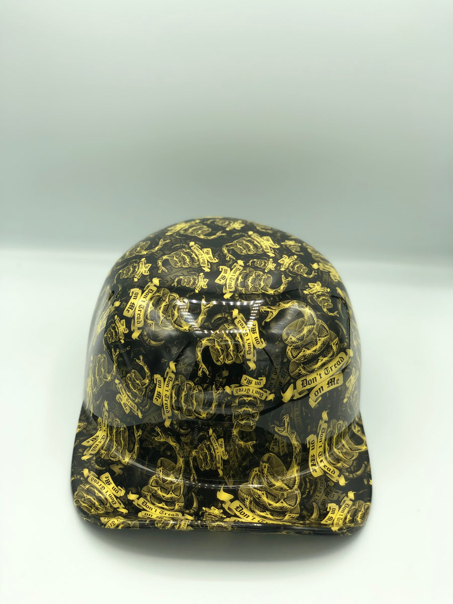 Hydrodipped Doughboy Lid - Don't Tread On Me