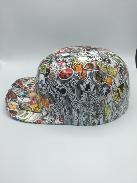 Hydrodipped Doughboy Lid - Stickerbomb