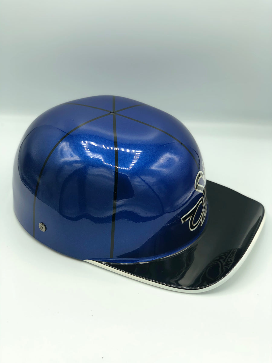 Custom Painted Doughboy Lid - Sturgis Blue