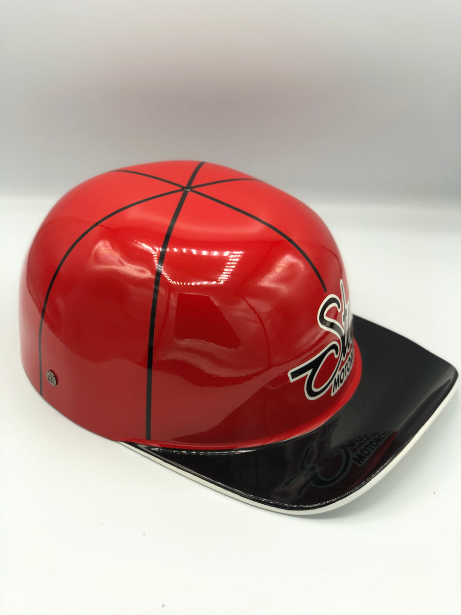 Custom Painted Doughboy Lid - Sturgis Red