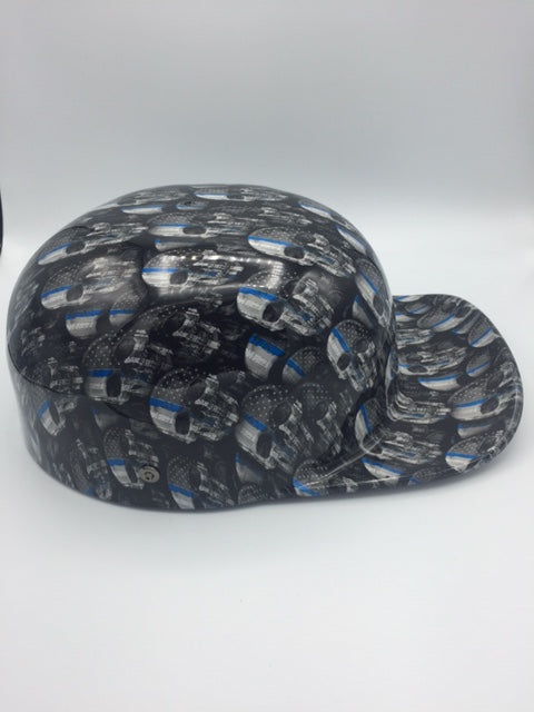 Hydrodipped Doughboy Lid - Thin Blue Line