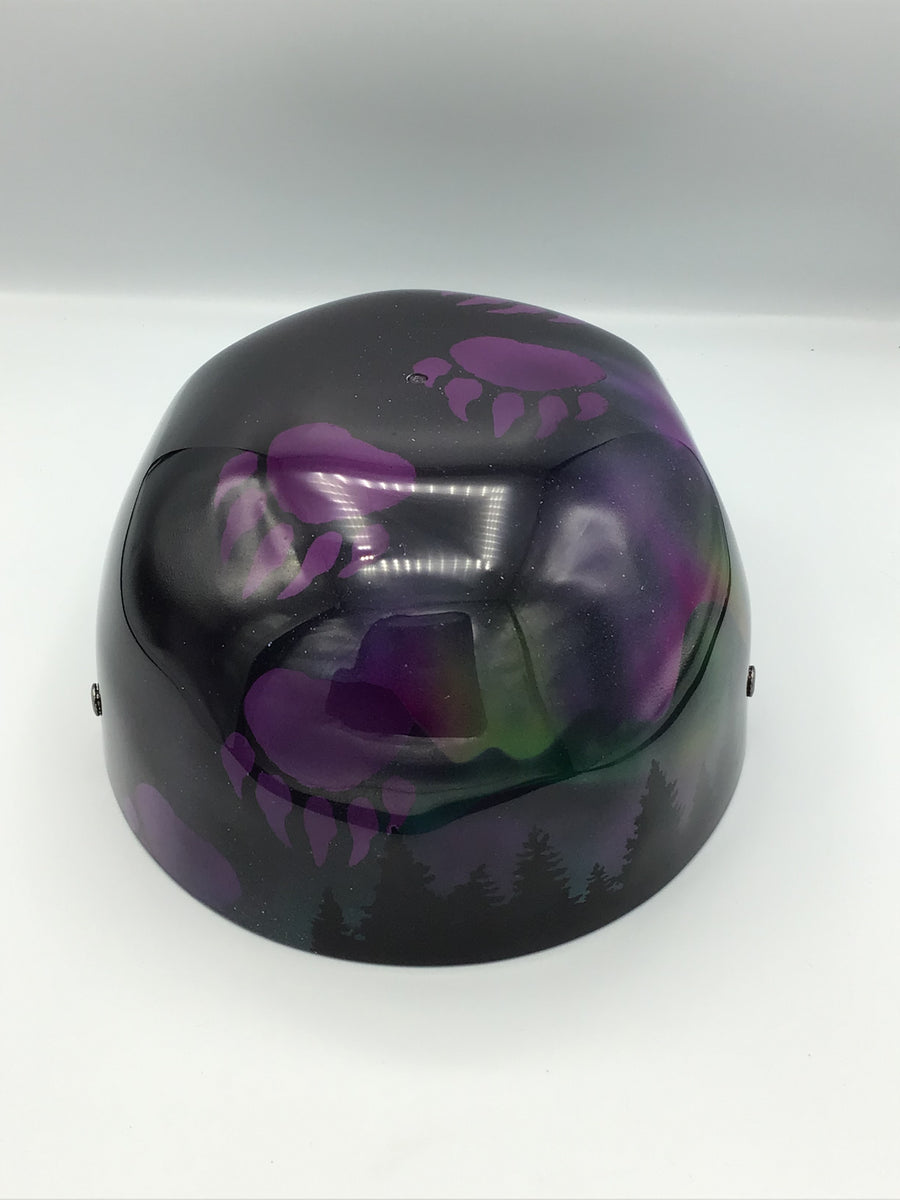 Custom Painted Doughboy Lid - Bear Claw