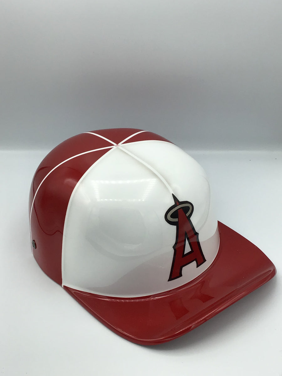 Custom Painted Doughboy Lid - Anaheim Angels