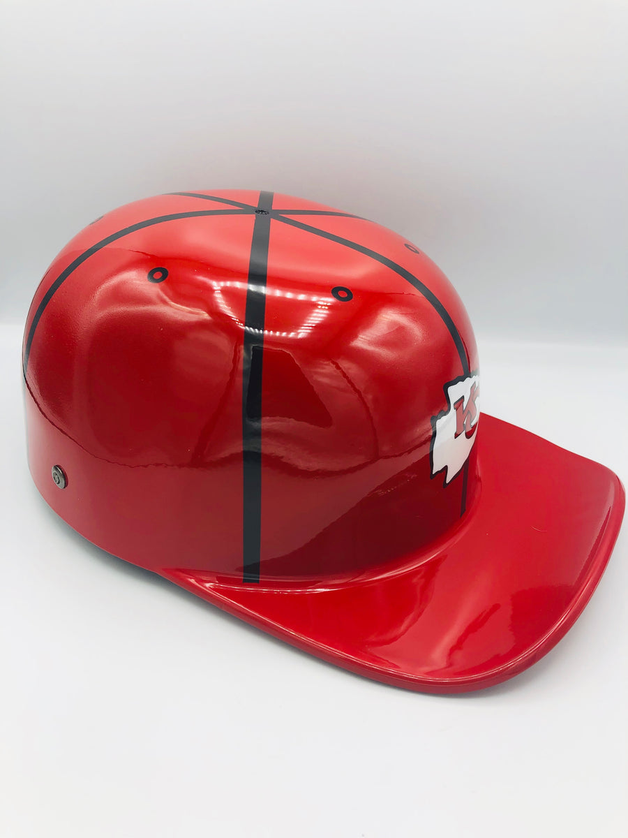Custom Painted Doughboy Lid - Kansas City Chiefs