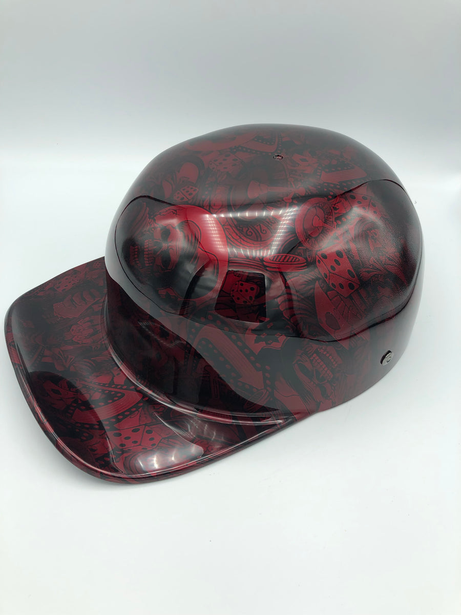 Hydrodipped Doughboy Lid - Red Gambler (NOT in stock.  More being dipped!)