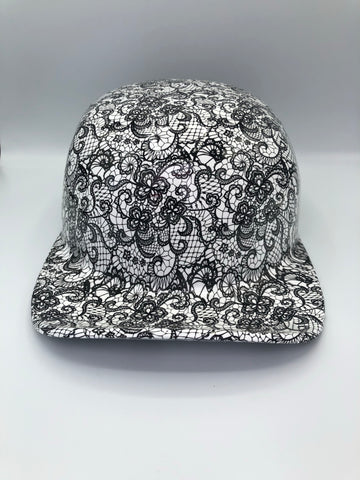 Hydrodipped Doughboy Lid - Lace