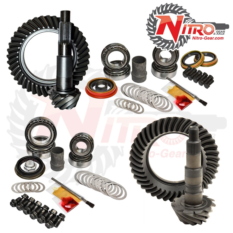 Silverado/Sierra Gear Package Kit 01-10 Chevrolet/GMC 2500 and 3500HD Diesel or 8.1L 4.88 Ratio Nitro Gear and Axle