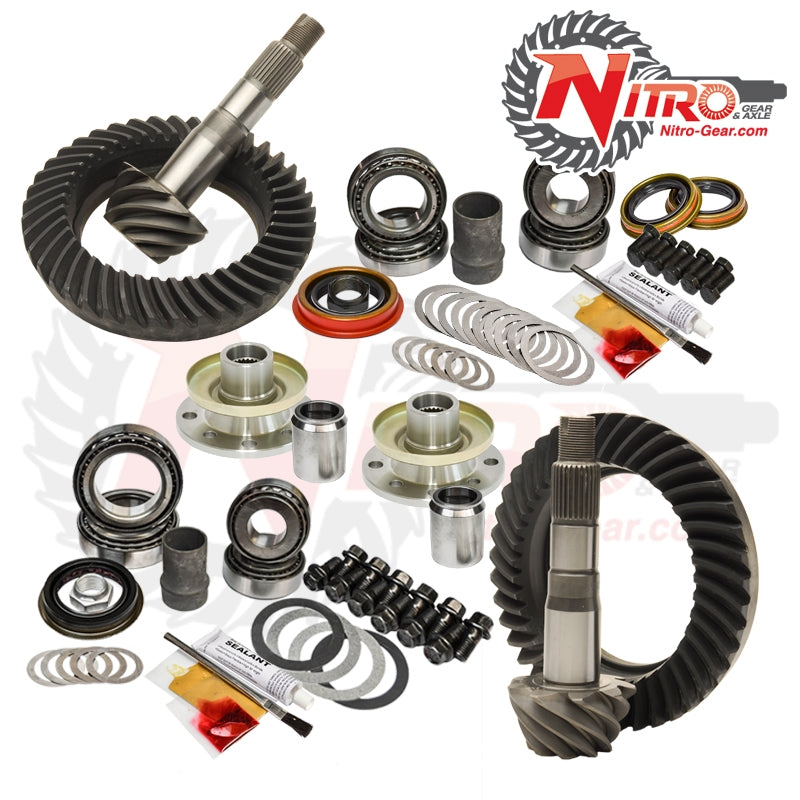 Toyota 70 Series 4.56 Ratio Gear Package Kit Nitro Gear and Axle