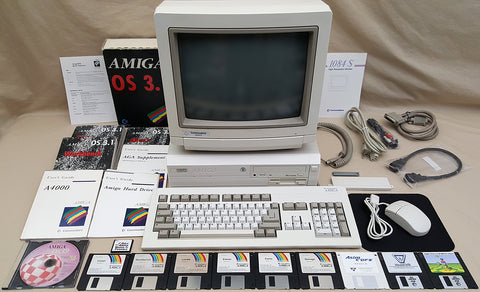 Commodore Amiga 4000 A4000 Desktop Computer with 1084S-D2 Monitor - 90004416