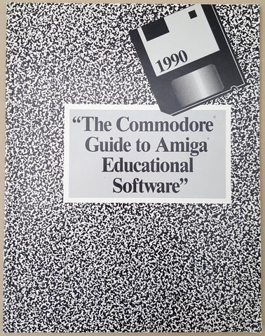The Commodore Guide to Amiga Educational Software Book ©1990 for Commodore Amiga