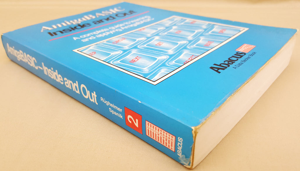 Amiga BASIC Inside and Out Abacus Book #2 for Commodore