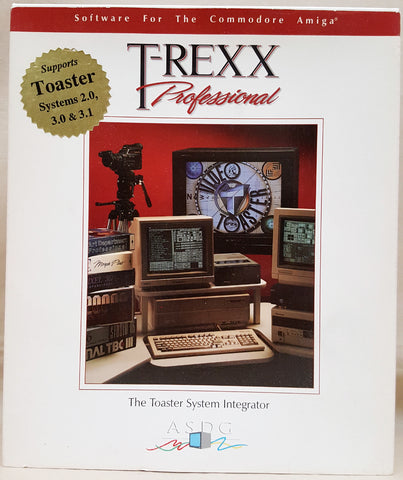 T-Rexx Professional v2.1.4 by ASDG for Commodore Amiga NewTek Video Toaster