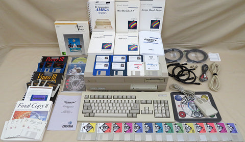 Commodore Amiga 2000 Desktop Computer with NewTek Video Toaster GVP 68030 TBC's