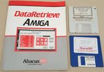 DataRetrieve by Abacus a Data Becker Product for Commodore Amiga