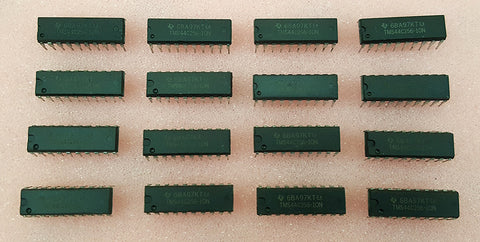 (16) 100ns 256K x 4 DRAM RAM Memory Chips 2MB for Commodore Amiga A2091 A590 2000HD